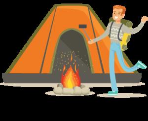 Hébergements insolites en camping