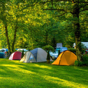 Se divertir en camping